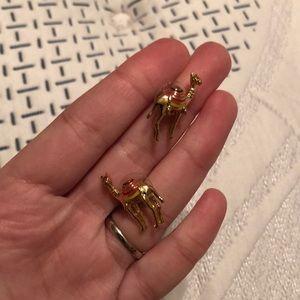 Kate Spade Camel Earrings